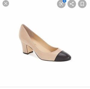 Ivanka Trump Lindi block cap shoes